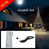 Actiepakket Fairybell 900 Led warmwit + 6m mast