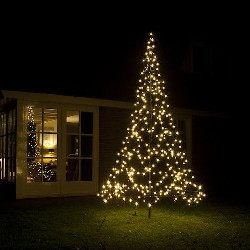 3M Fairybell kerstboom 360 LED warmwit met mast
