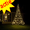 Fairybell kerstboom 360 Led warmwit + 3M mast