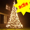 Fairybell kerstboom 480 Led warnwit + 3M mast