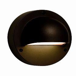 DEIMOS WANDMODEL, 12V ZWART WARMWITTE LED