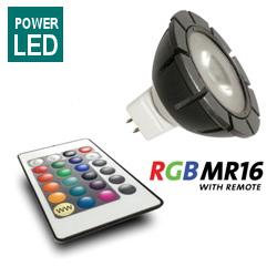 Ledlamp rgb 3 watt incl. Ab
