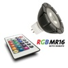 POWER LEDLAMP RGB 3 WATT INCL. AB