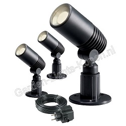 SET 3X ALDER SPOT LED