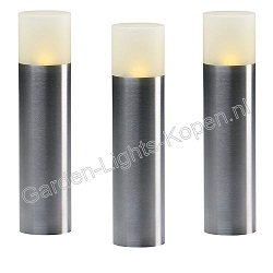Actieset 3 stuks oak  lamp