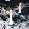 Kaarsensnoer met 25  kaarslampjes voor buiten