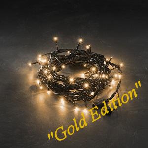 Kerstverlichting LED koppelbaar 5m lichtsnoer 50x extra warm-witte LED