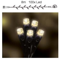 Promo \'Premium\' koppelbaar 10m lichtsnoer 200 warmwitte LED