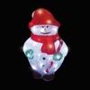 Kerstdecoratie LED acryl  sneeuwpop 40xLed