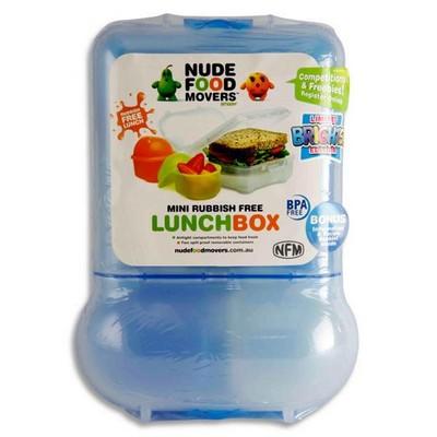 meervaks lunchbox blauw
