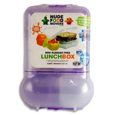 meervaks lunchbox paars