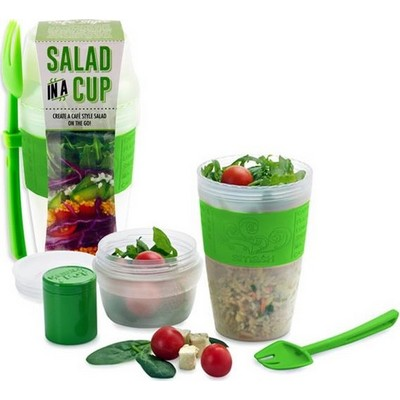lunchbeker salade