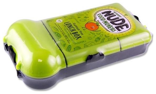 lunchbox large meervaks zwart limoen