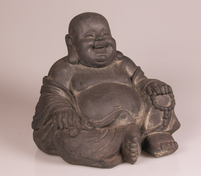 Boeddhabeeld happy boeddha