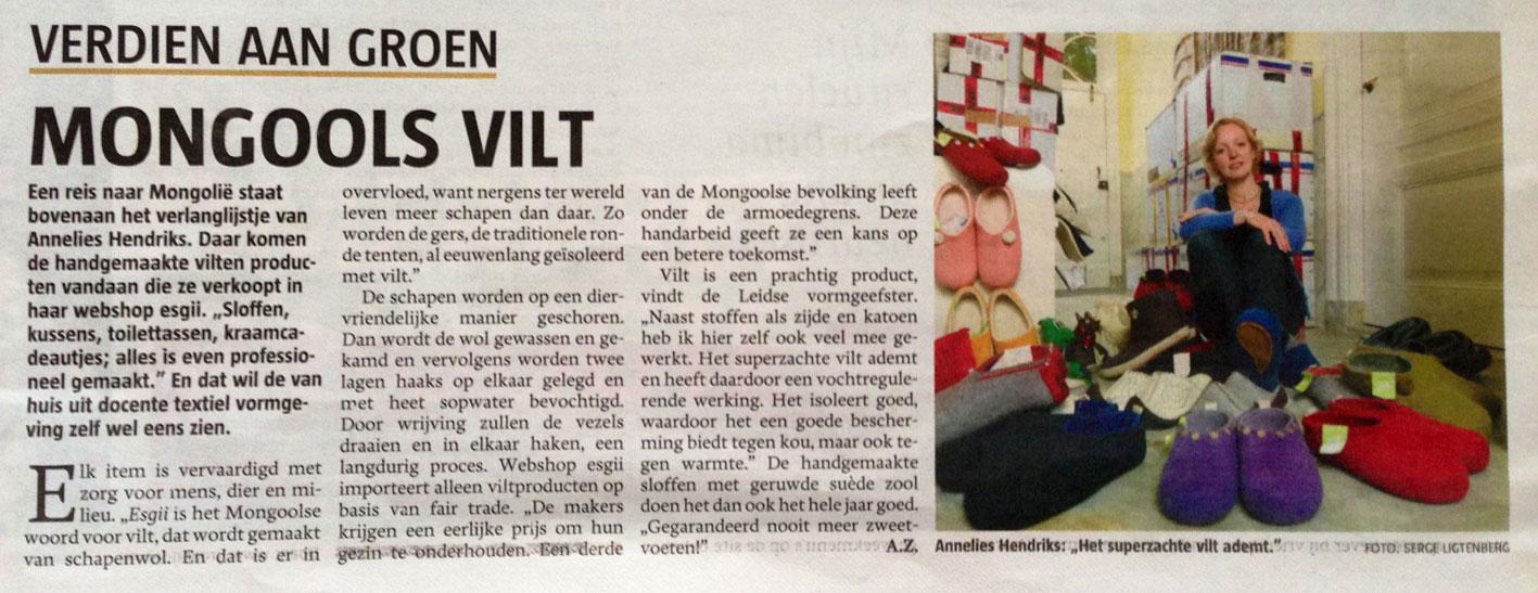esgii-in-Telegraaf