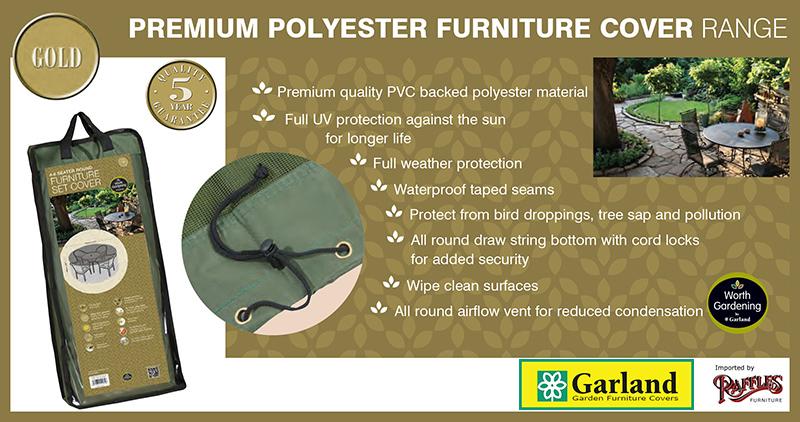 Garland Gold Premium Polyester Range eigenschappen