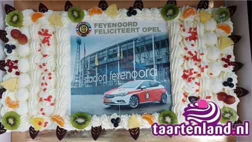 Feyenoord Opel taart