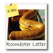 Roomboter Amandel Letter