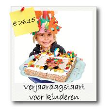Kindereren verjaardagstaart