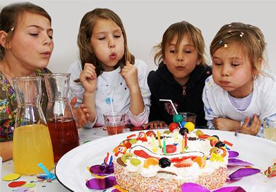 kinderen taart