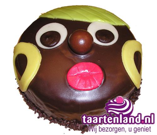 Zwarte Piet taartje