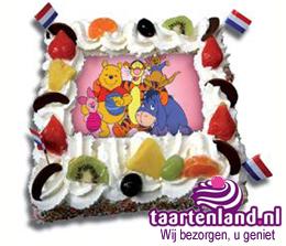 Winnie de Pooh taart