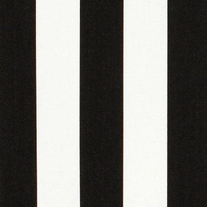 Sunbrella Stripes 3740 Yacht Stripe Black