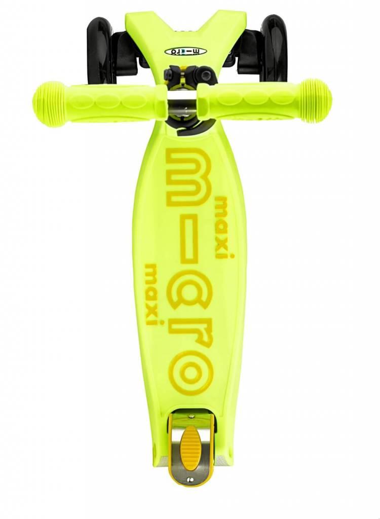Maxi Micro step Deluxe geel met T-bar 5-12 jaar
