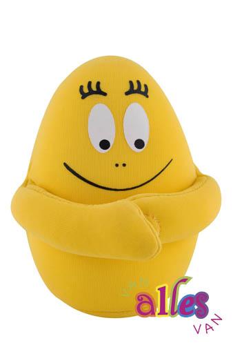 Mini knuffel Barbabee 10cm - geel