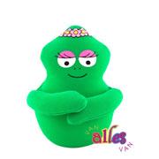 Mini knuffel Barbalala 10cm - groen