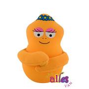 Mini knuffel Barbabientje 10cm - oranje