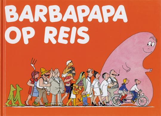 Boek - Barbapapa op reis