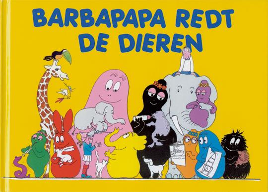 Boek - Barbapapa redt de dieren