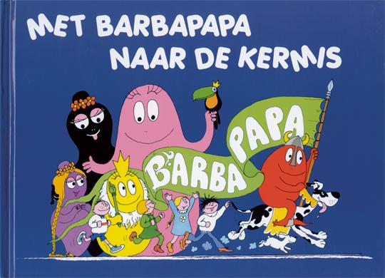 Boek - Met Barbapapa naar de kermis
