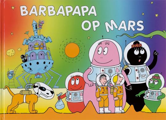 Boek - Barbapapa op Mars