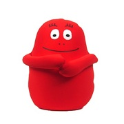 Barbaborre knuffel 16cm rood