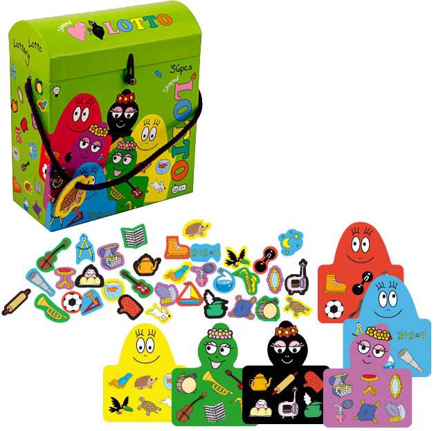 Barbapapa bingo spel (lotto)