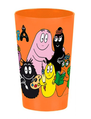 Barbapapa drinkbeker voor kinderen oranje