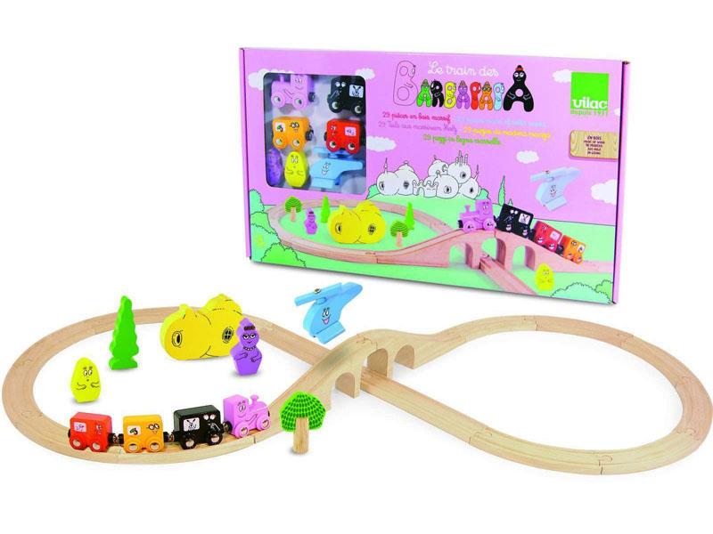 Barbapapa houten trein set