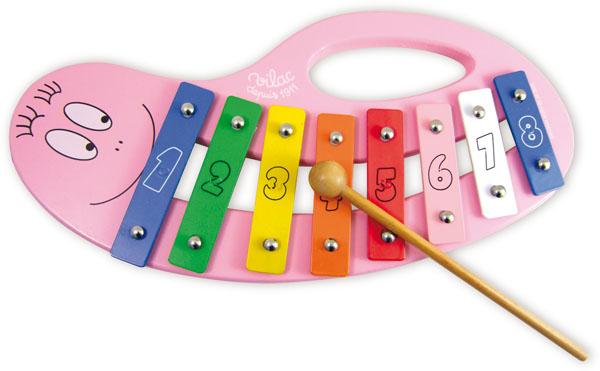 Barbapapa speelgoed xylofoon