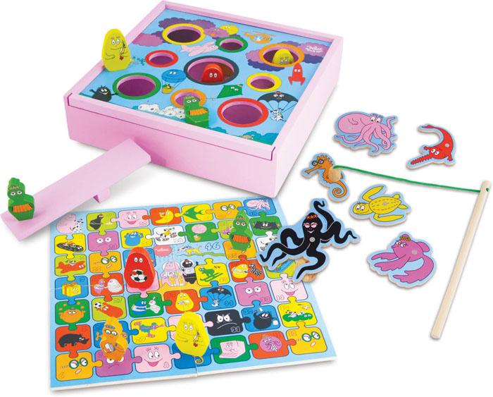 Barbapapa spelletjes doos (set van 4 spellen)