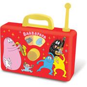 Barbapapa radio speelgoed muziekdoos
