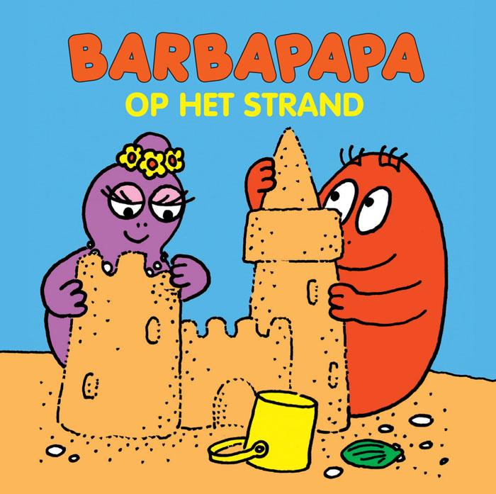 Miniboekje - Barbapapa op het strand