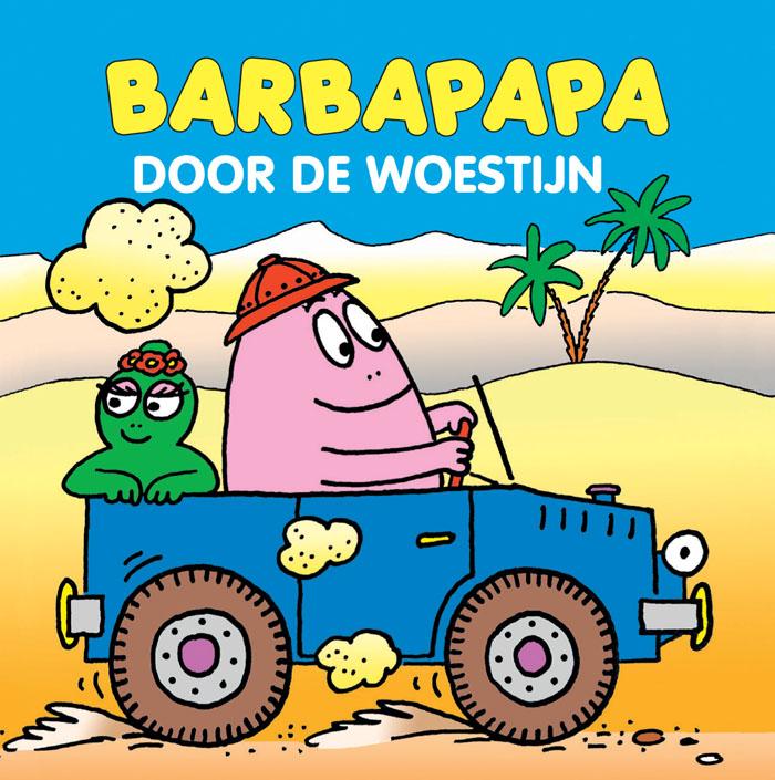 Miniboekje - Barbapapa door de woestijn