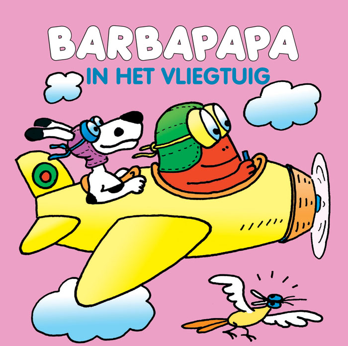 Miniboekje - Barbapapa in het vliegtuig