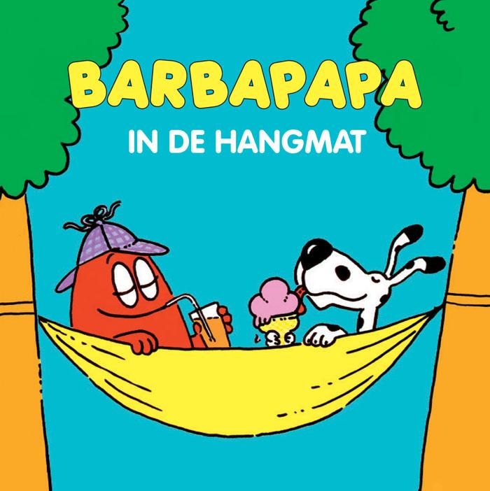 Miniboekje - Barbapapa in de hangmat