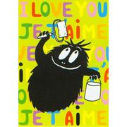Postkaart Barbabob I love you