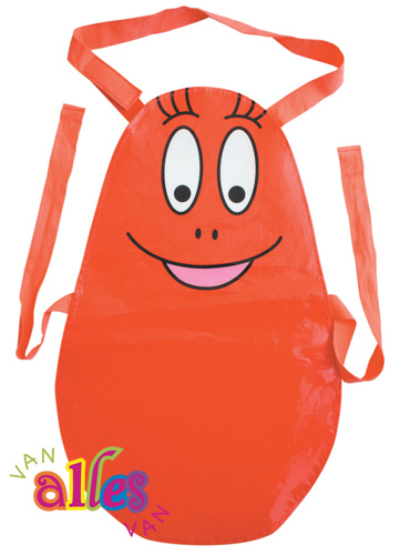 Barbapapa kookschort rood Barbaborre (kind)