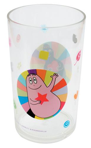 Barbapapa kunststof glas kleuren