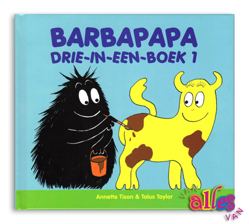 Barbapapa - drie-in-een-boek - 1